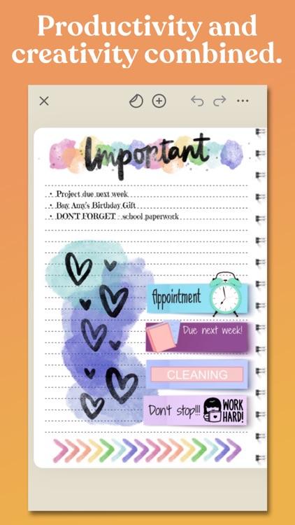 Zinnia Journal & Planner screenshot-7