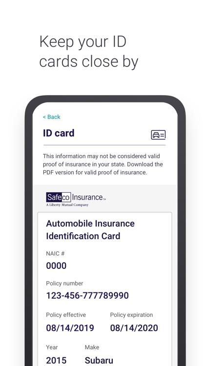 Safeco Mobile screenshot-3