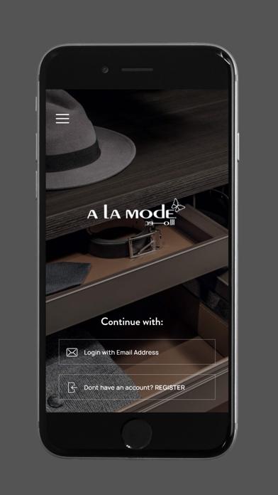 A La Mode Online Shopping screenshot 1