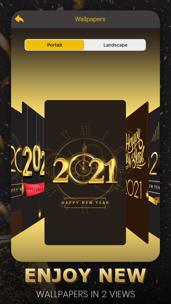 Happy New Year Wallpapers 2021 App For Iphone Free Download Happy New Year Wallpapers 2021 For Iphone At Apppure