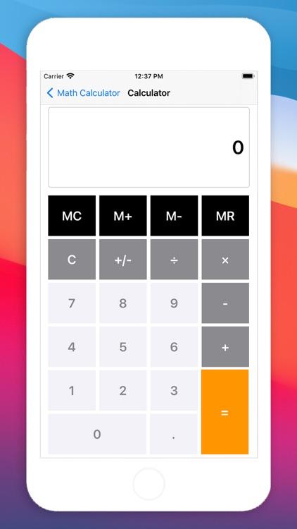 Math Calculator - No Ads