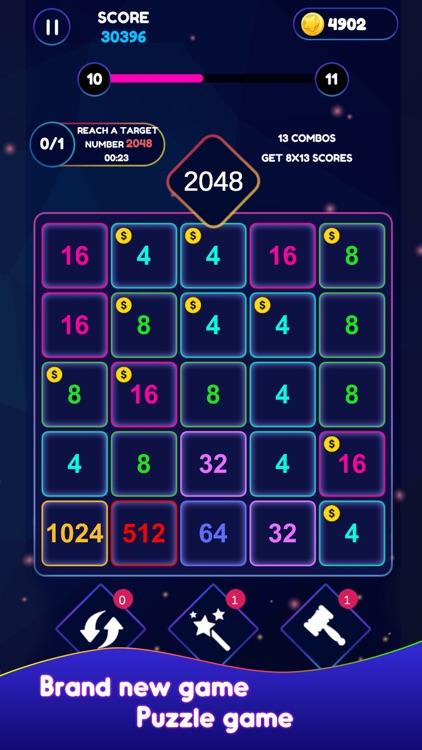 Neon Pop Numbers