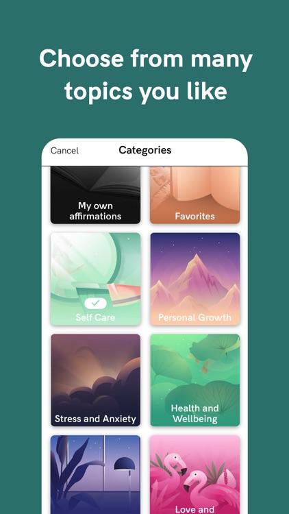 I am - Positive Affirmations screenshot-5