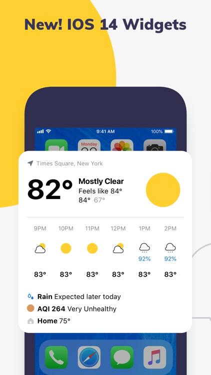 Forecast & Radar by ClimaCell