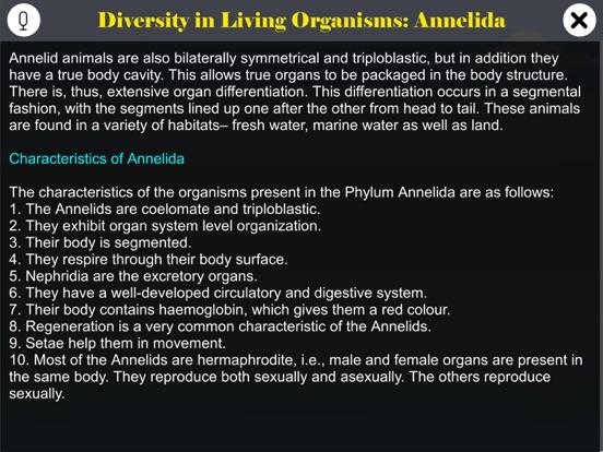 Diversity in Living: Annelida screenshot 9