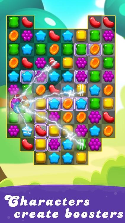 Candy Rush 3D - Match 3 Games screenshot-4
