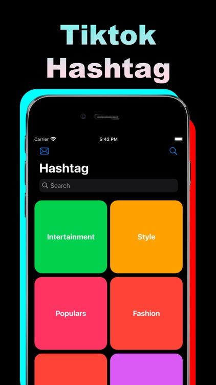 Tik Hashtags