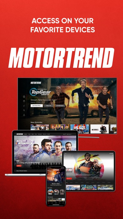 MotorTrend: Stream Car Shows Screenshot