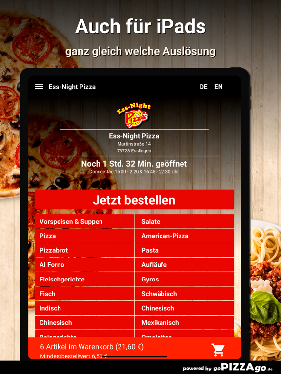 Ess-Night Pizza Esslingen screenshot 7