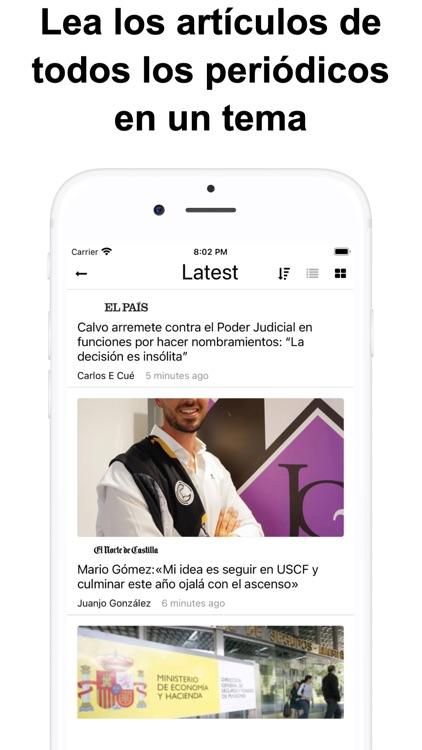 Noticias de última hora España screenshot-7