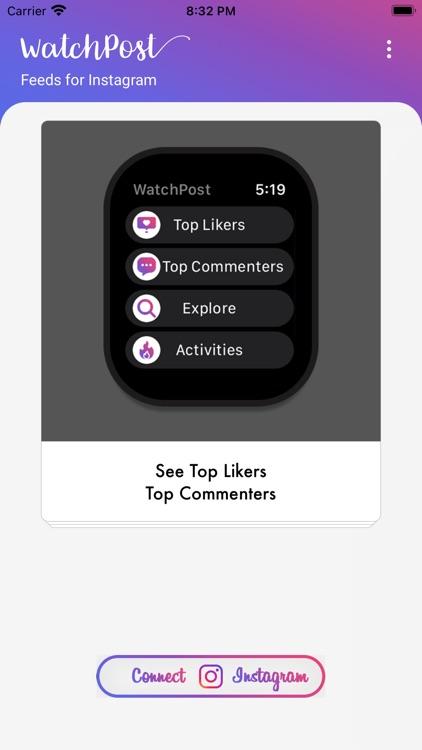 WatchPost for Instagram Feeds screenshot-4