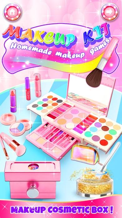 Makeup Kit Dress Up Girl Games Screenshot on iOS