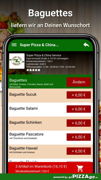 Super Pizza Schwaigern screenshot 6