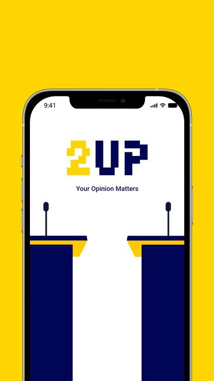 2UP Live Video Debate screenshot-0