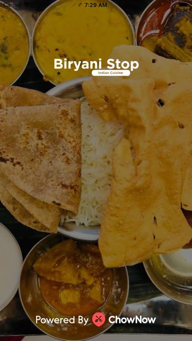 Biryani Stop Indian Cuisine screenshot 1