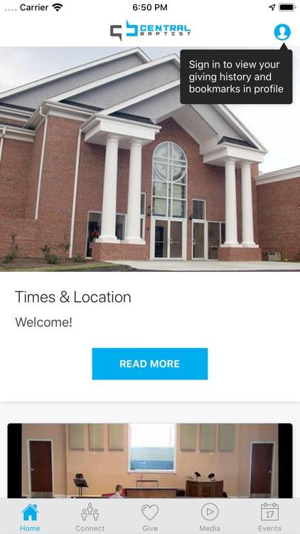 Central Baptist Church Gaffney