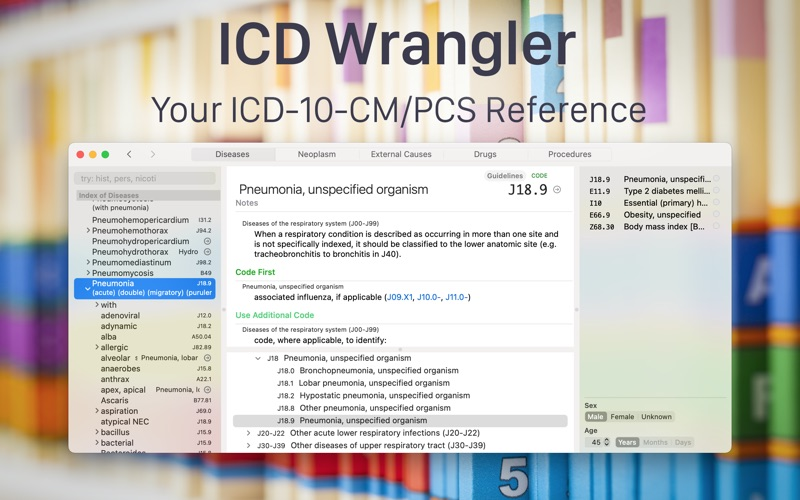 ICD Wrangler скриншот программы 1