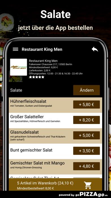 Restaurant King Men Berlin screenshot 5