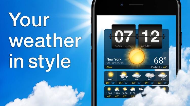 Weather⁺ screenshot-0