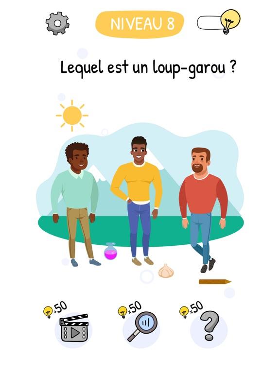 Who is? Énigmes et casse-têtes iPad captures décran