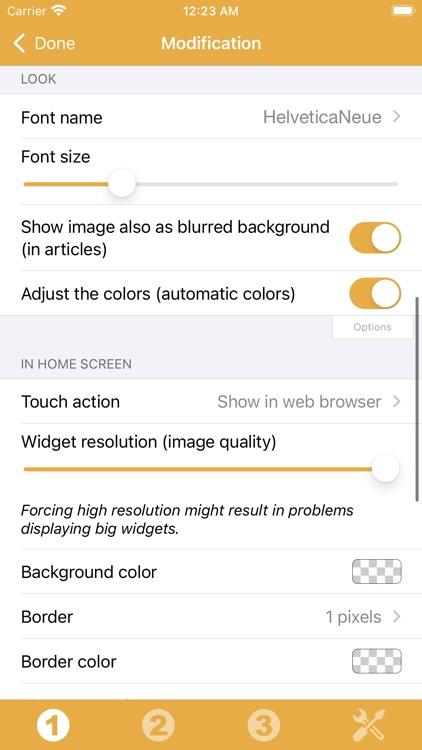 RSS Widget screenshot-9