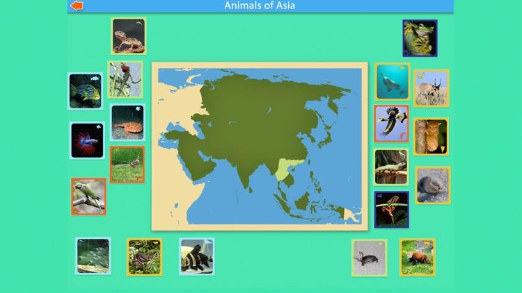 Montessori - Animals of Asia screenshot-4
