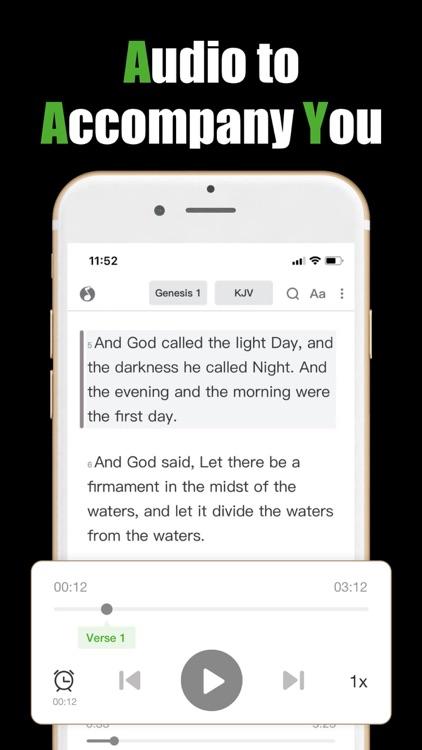 Holy Bible KJV-Prayer & Audio screenshot-6