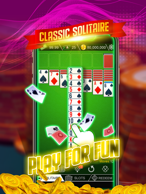 Ipad Screen Shot Cash Solitaire 0