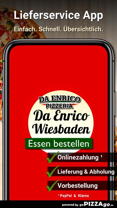 Pizzeria Da Enrico Wiesbaden screenshot 1