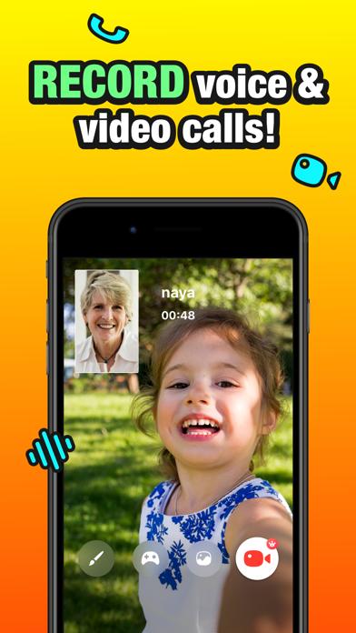 JusTalk Kids - 安全なビデオチャットのおすすめ画像5