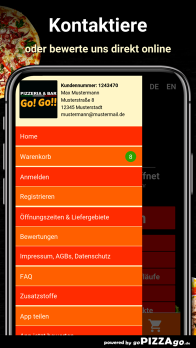 Pizzeria Gogo Hagen Haspe screenshot 3