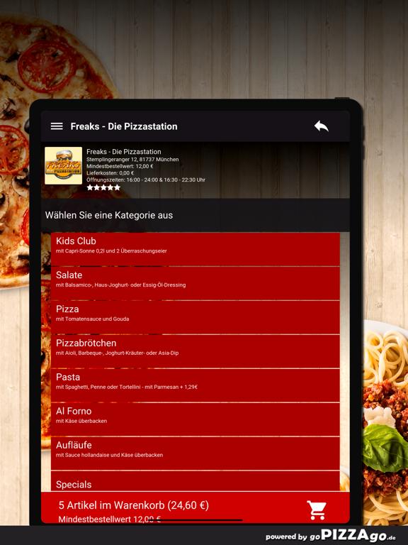 Freaks Pizza München screenshot 8