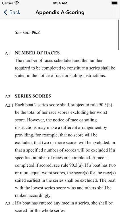 US Sailing Racing Rules screenshot-4