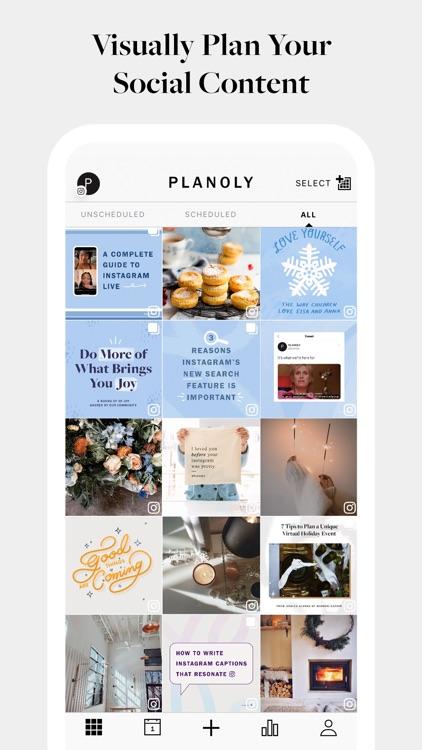 PLANOLY: Plan, Schedule, Post screenshot-0
