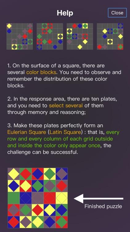 Magic Square In Color screenshot-4