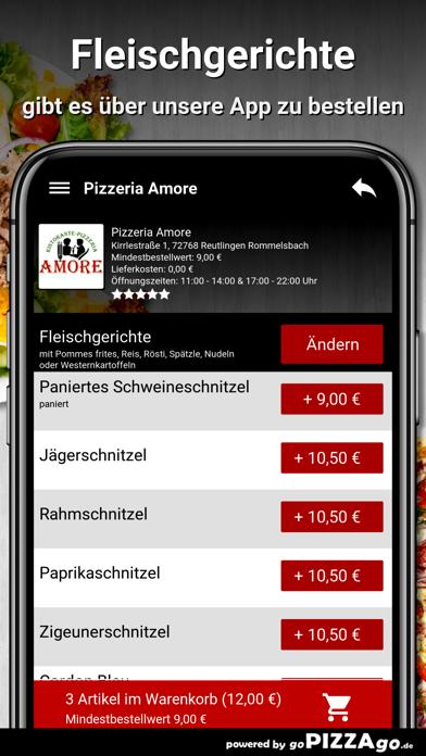 Amore Reutlingen Rommelsbach screenshot 6