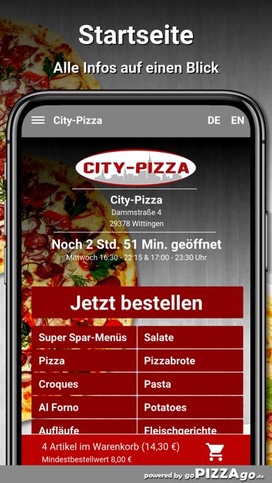 City-Pizza Wittingen screenshot 2