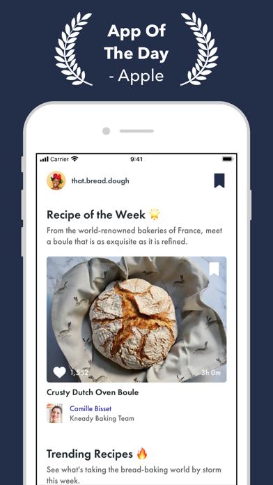 Kneady: Bread Recipes & BakingScreenshot of 1