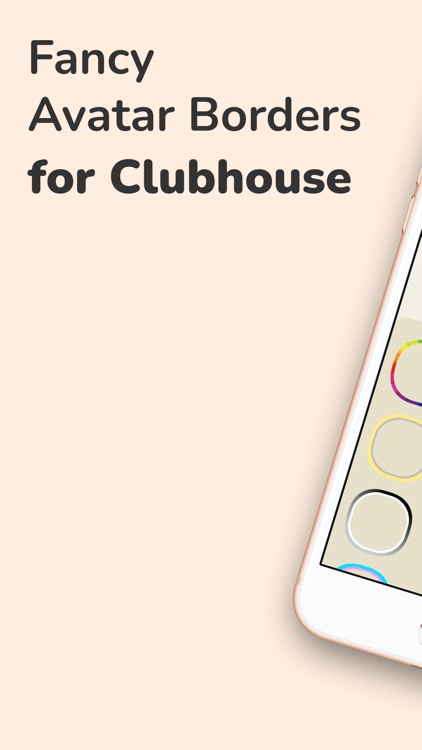 Cool Borders for Clubhouse