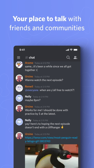 Discord - Talk, Chat, Hang Out для ПК