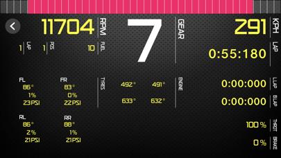 Sim Racing Dash for F1 2020 screenshot 2