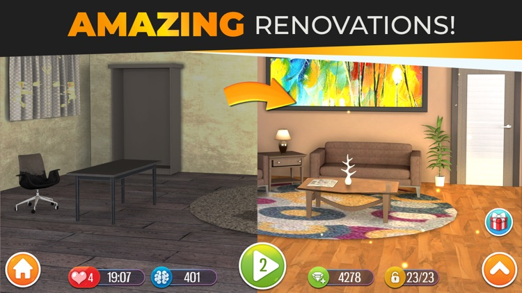Home Design Dreams: Your House screenshot-4