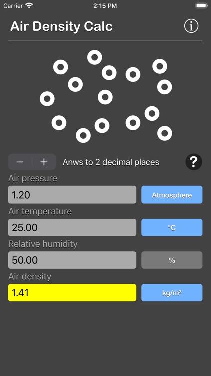 Air Density Calculator screenshot-8