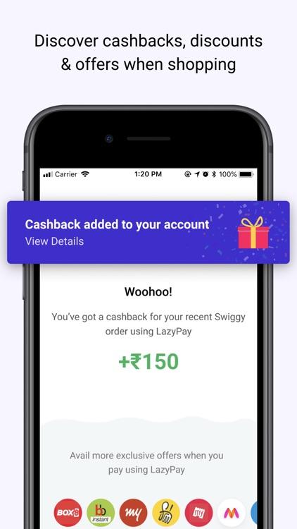 LazyPay–PayLater|Personal Loan screenshot-5