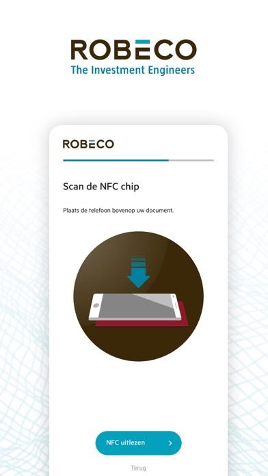 Robeco Identificatie iPhone app afbeelding 3