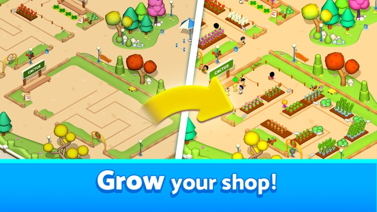 Plant Shop Tycoon - Idle Game