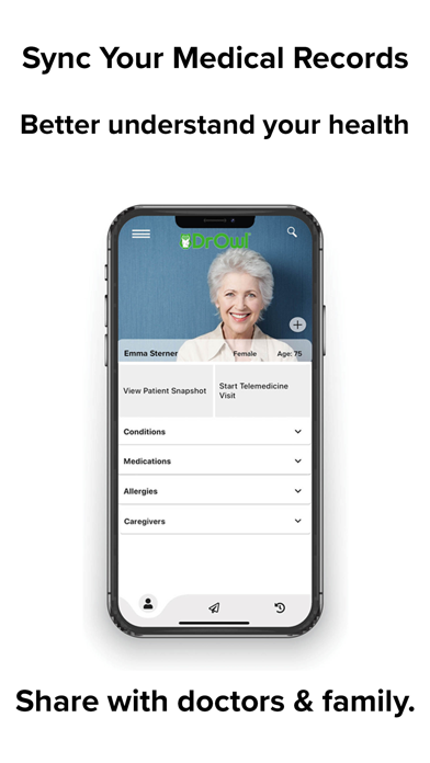 messages.download DrOwl-Med Records & Telehealth software