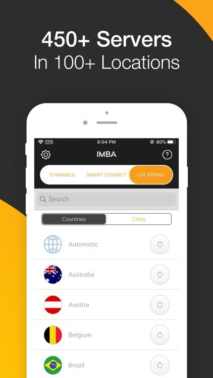IMBA VPN screenshot-3