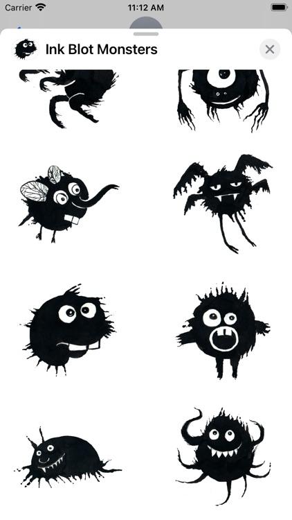 Ink Blot Monsters screenshot-4