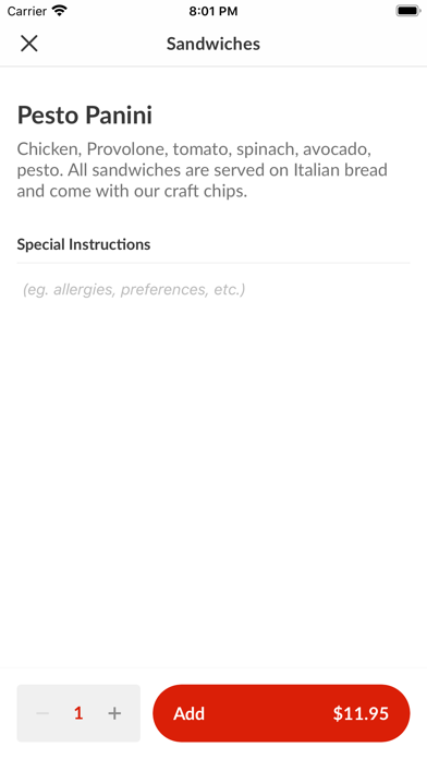 Pesto Italian CraftScreenshot of 4